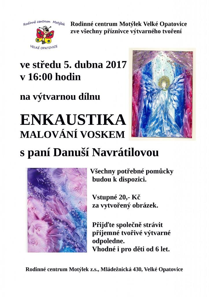 Enkaustika s D.Navrátilovou V.O